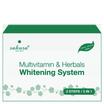 Multivitamin & Herbals Whitening System