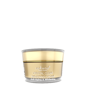 Crystal Clear Whitening Cream – Anti-Aging & Whitening